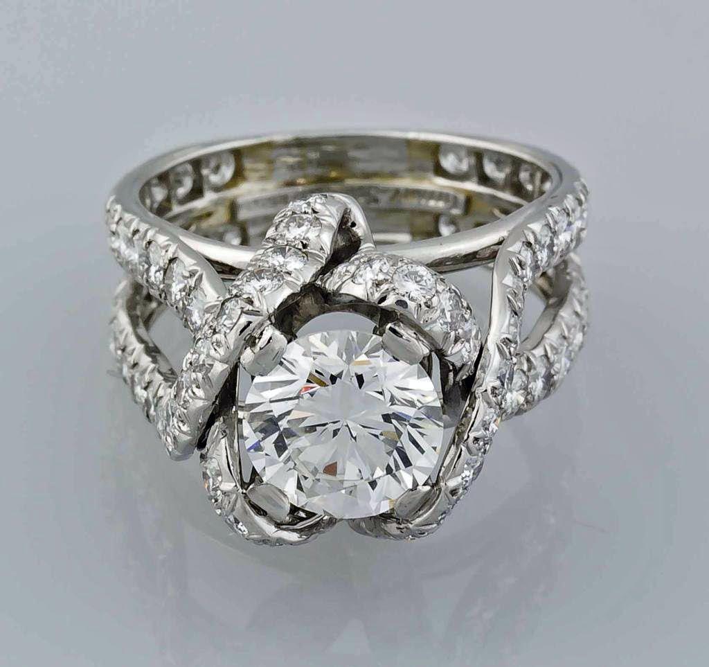 wedding rings tiffany antique tiffany setting engagement rings 12 Antique Tiffany Engagement Rings