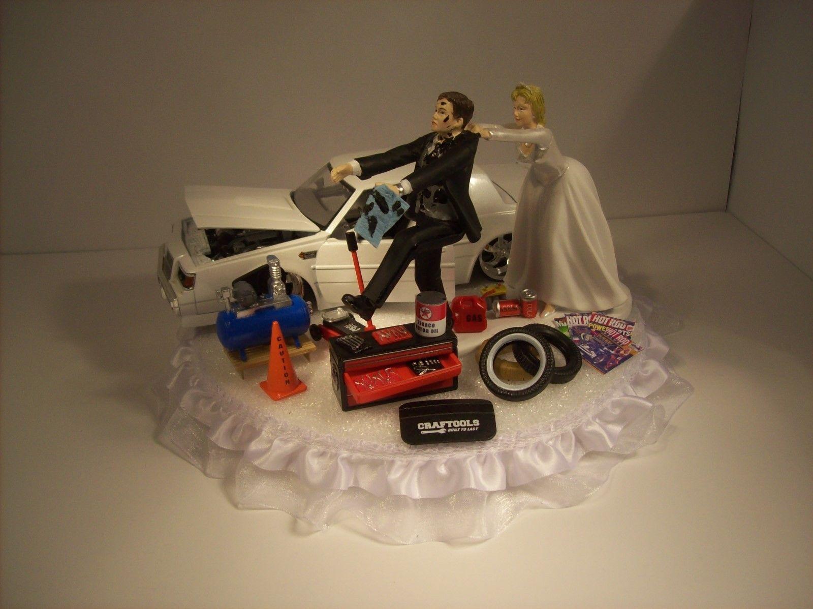 mechanic wedding ring Mechanic Cake Topper