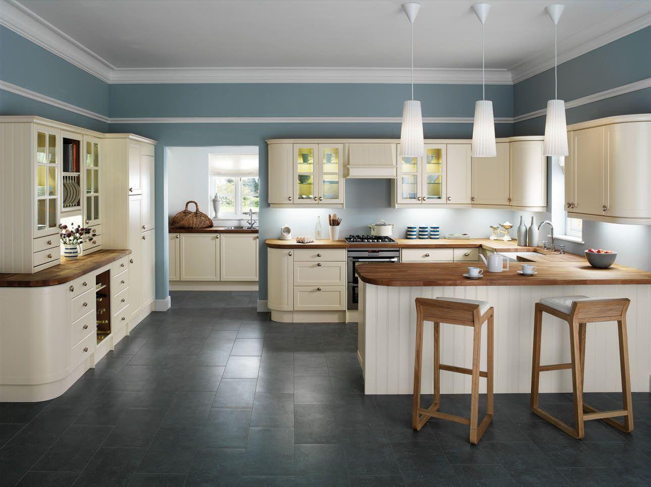 kitchen & bath remodeling sofia cream kitchen 1 Kitchen Pinterest Cream gloss kitchen Cream kitchens and Cream