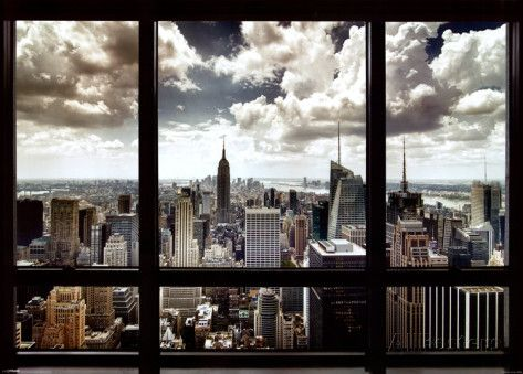 Fine City Window Texture New York Prints Intended Inspiration Decorating