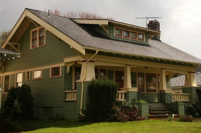 early twentieth century house styles | In Ladd's Addition, a full front porch is frosting on the ...
