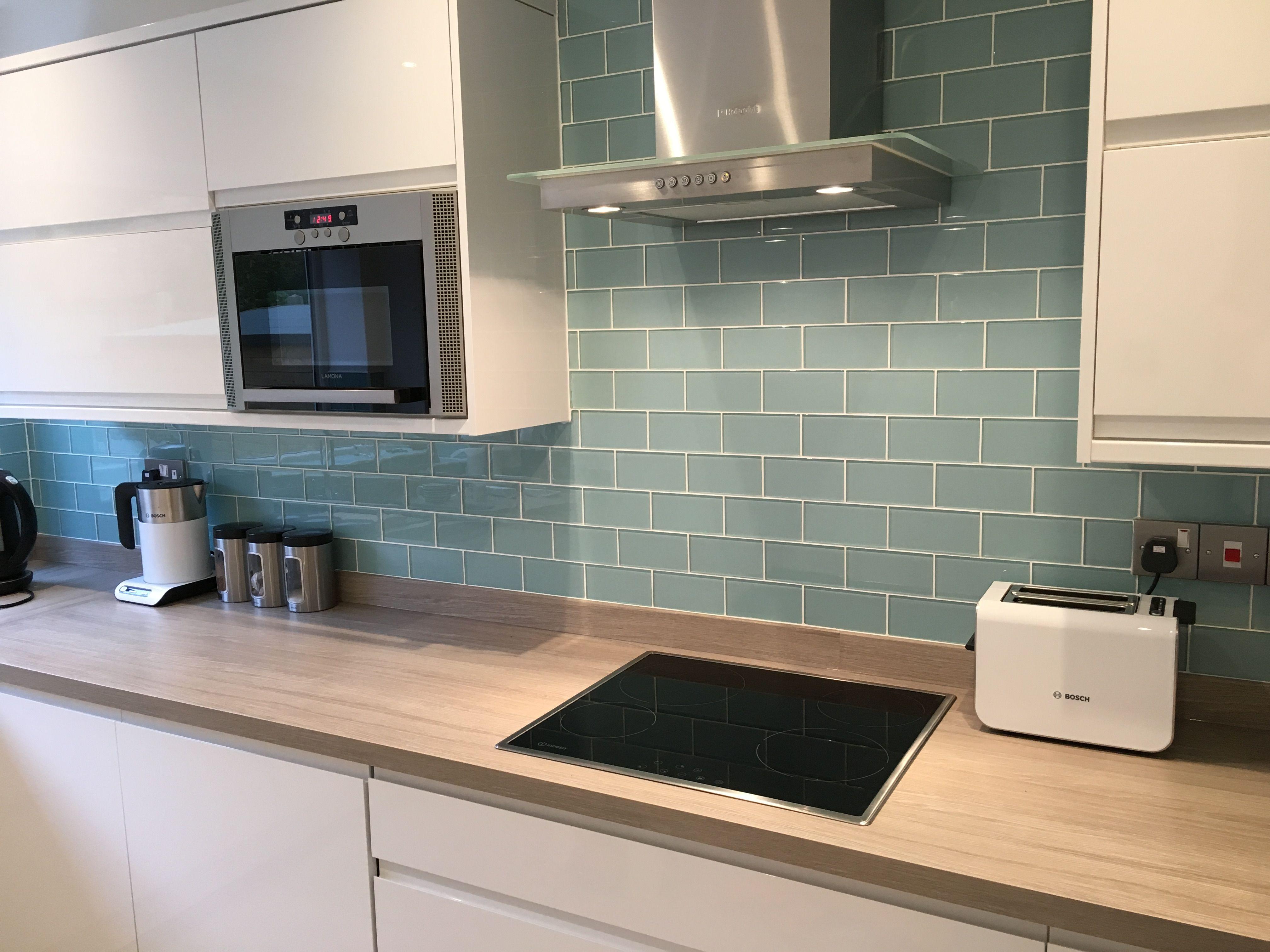 metro tiles kitchen tile designs Glass Metro Tiles