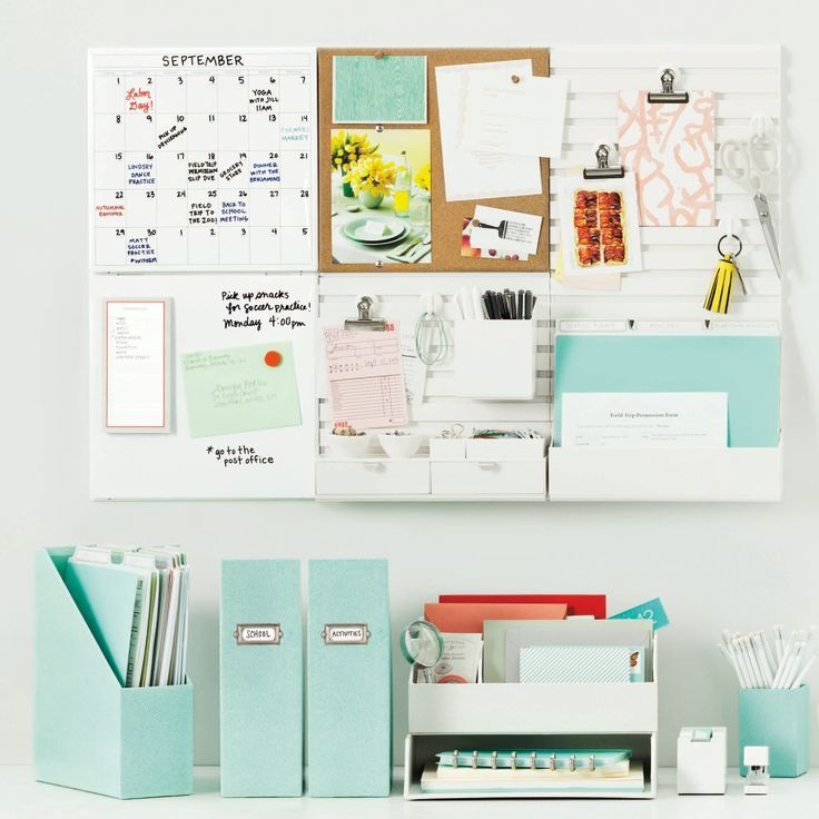 diy home projects office organisation