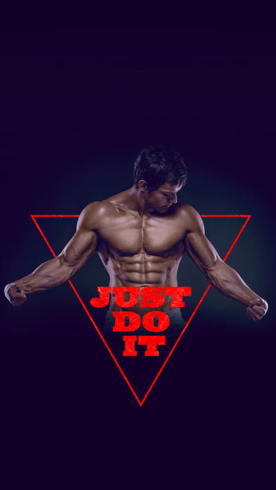 TAP AND GET THE FREE APP! Art Creative Nike Quotes Just Do It Motivation Logo Red Black HD ...