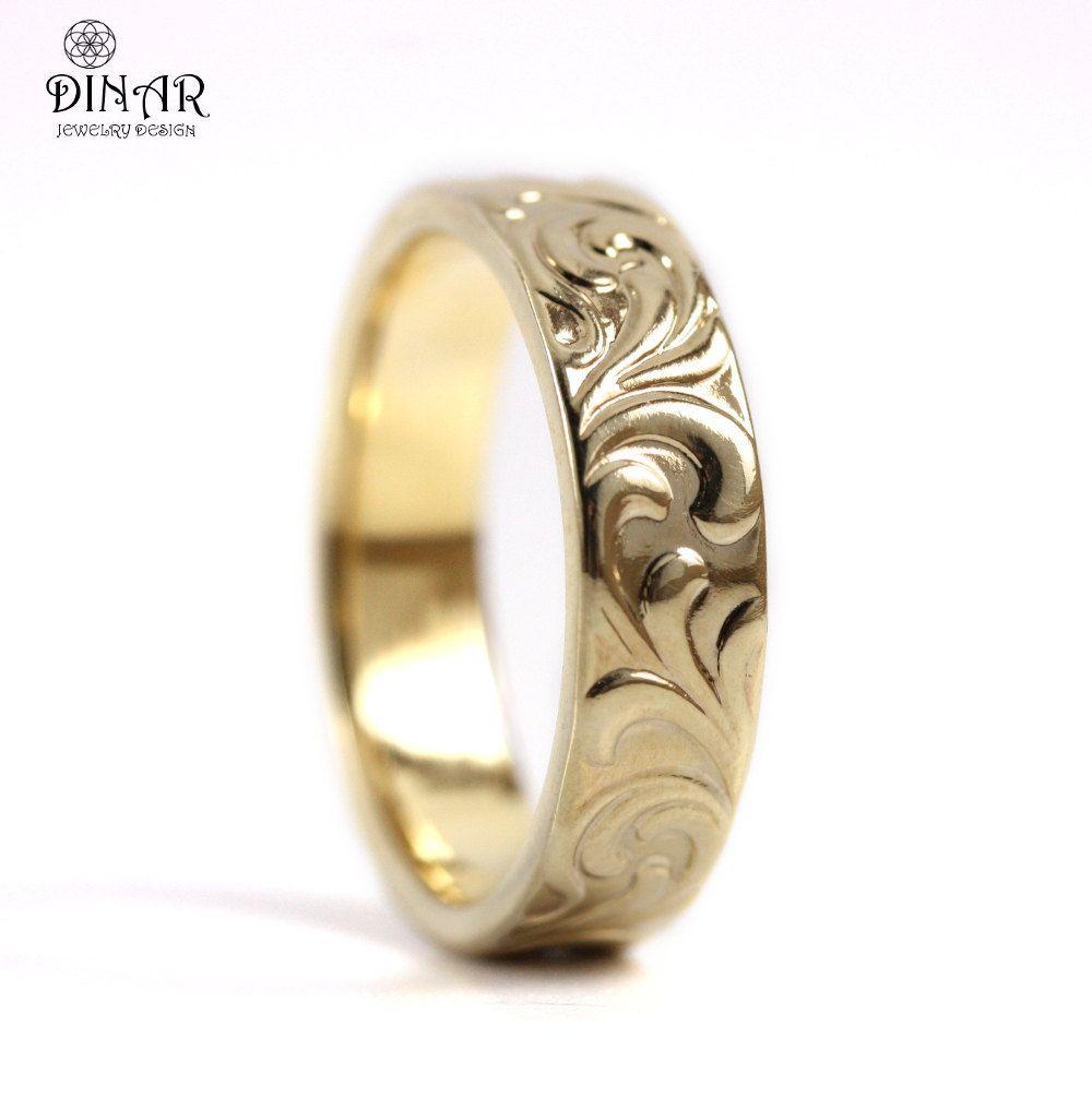 unisex wedding bands Ring