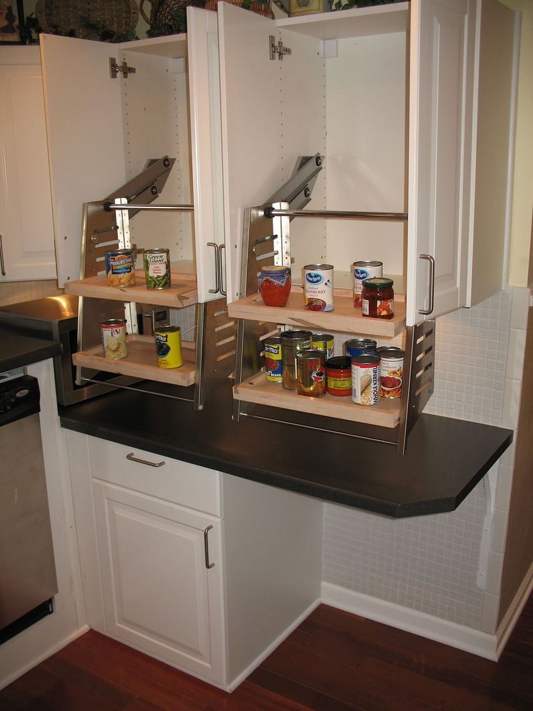 kitchen remodeling baltimore This wheelchair accessible kitchen cabinet is installed in the kitchen of the wheelchair accessible house for