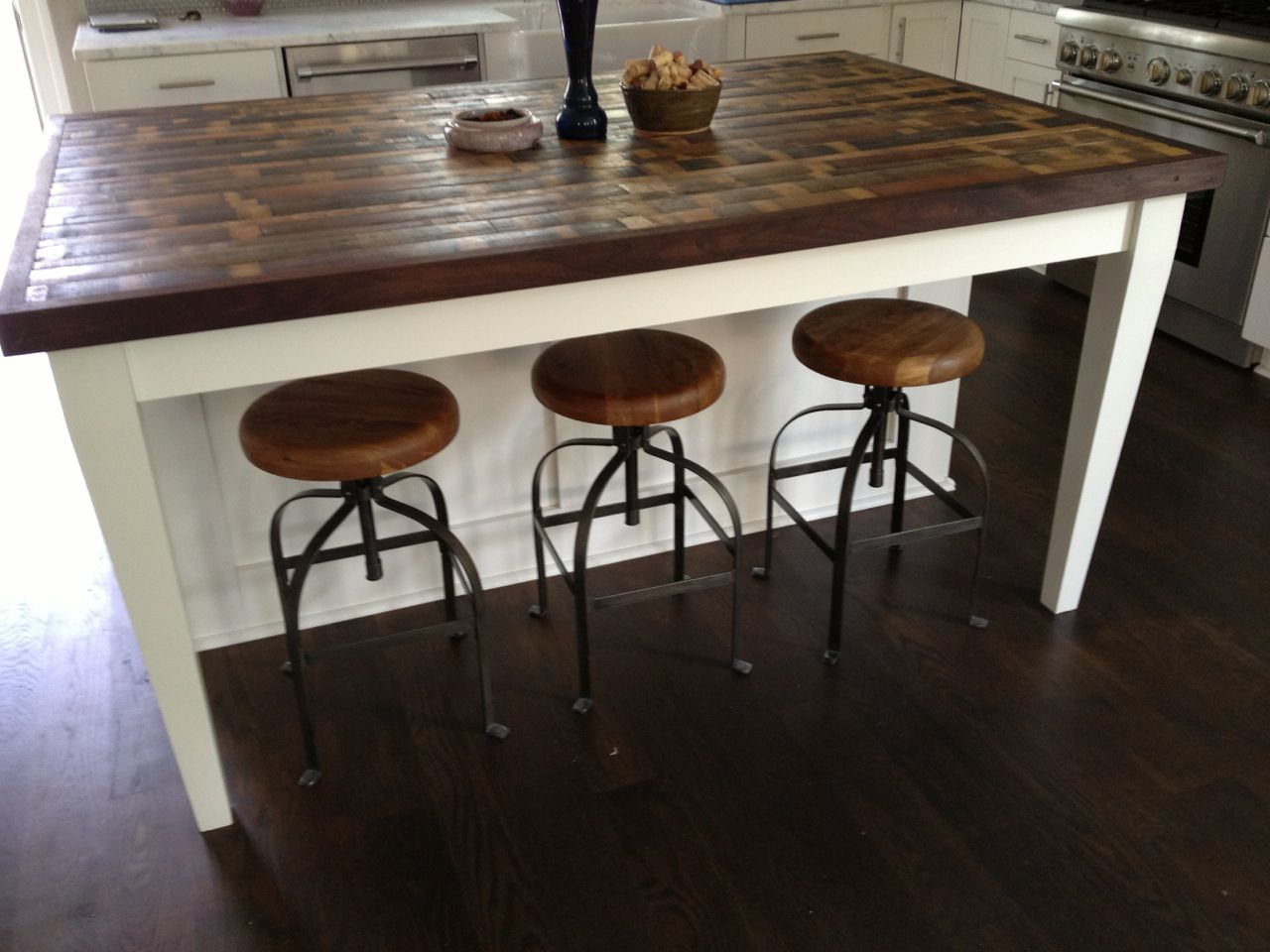 butcher block table tops kitchen island table Attractive Kitchen Island Design Ideas