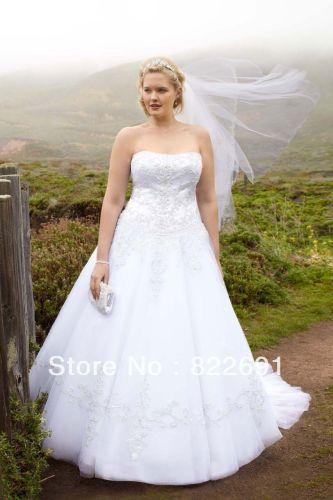 strapless tulle wedding dress A line Side Drape Strapless Gown David s Bridal Dream wedding ideas Pinterest Wedding Strapless gown and Dresses