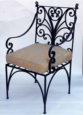wrought iron furniture chairs and benches modern interior decorating ideas rot t
