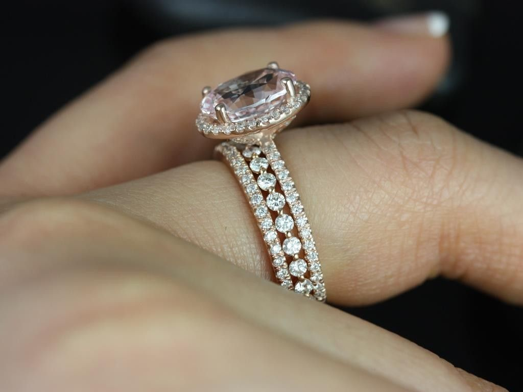 sapphire wedding band Cushion cut champagne sapphire I think I found the ring the ring wedding band and a third ring for my husband