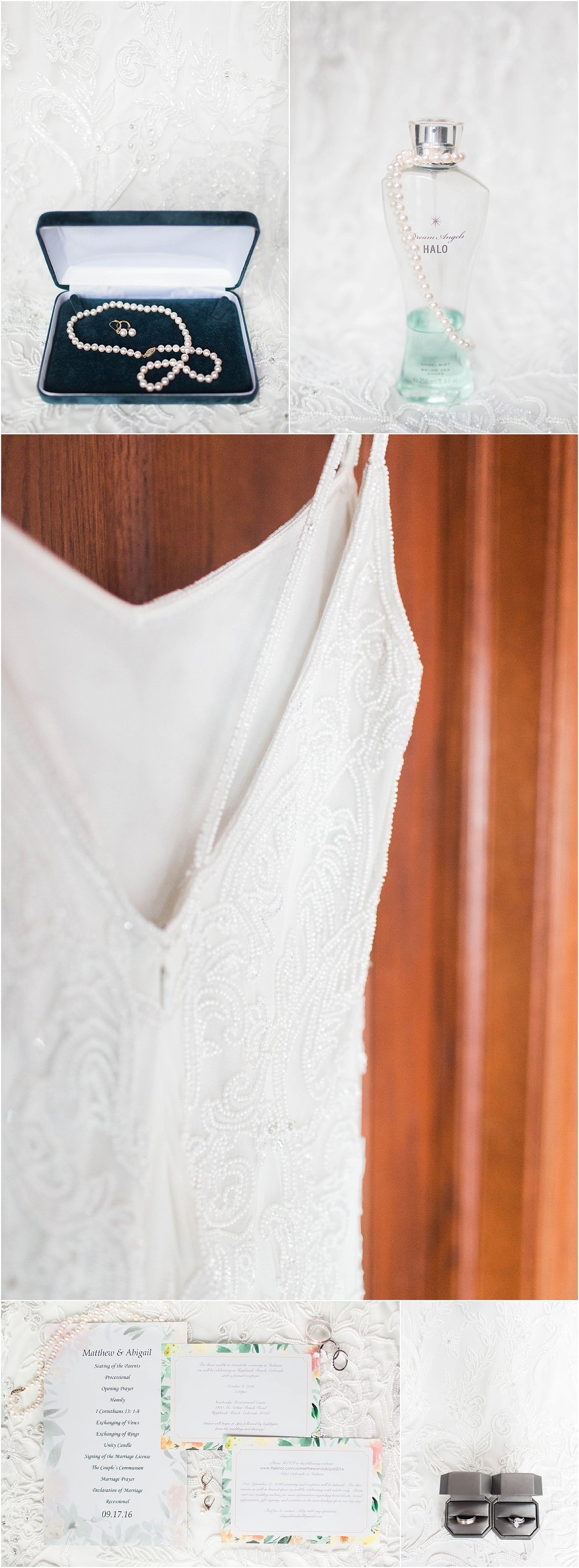 backyard wedding dresses A Beaded Wedding Dress as a staple to the natural backyard wedding Photos by Arielle