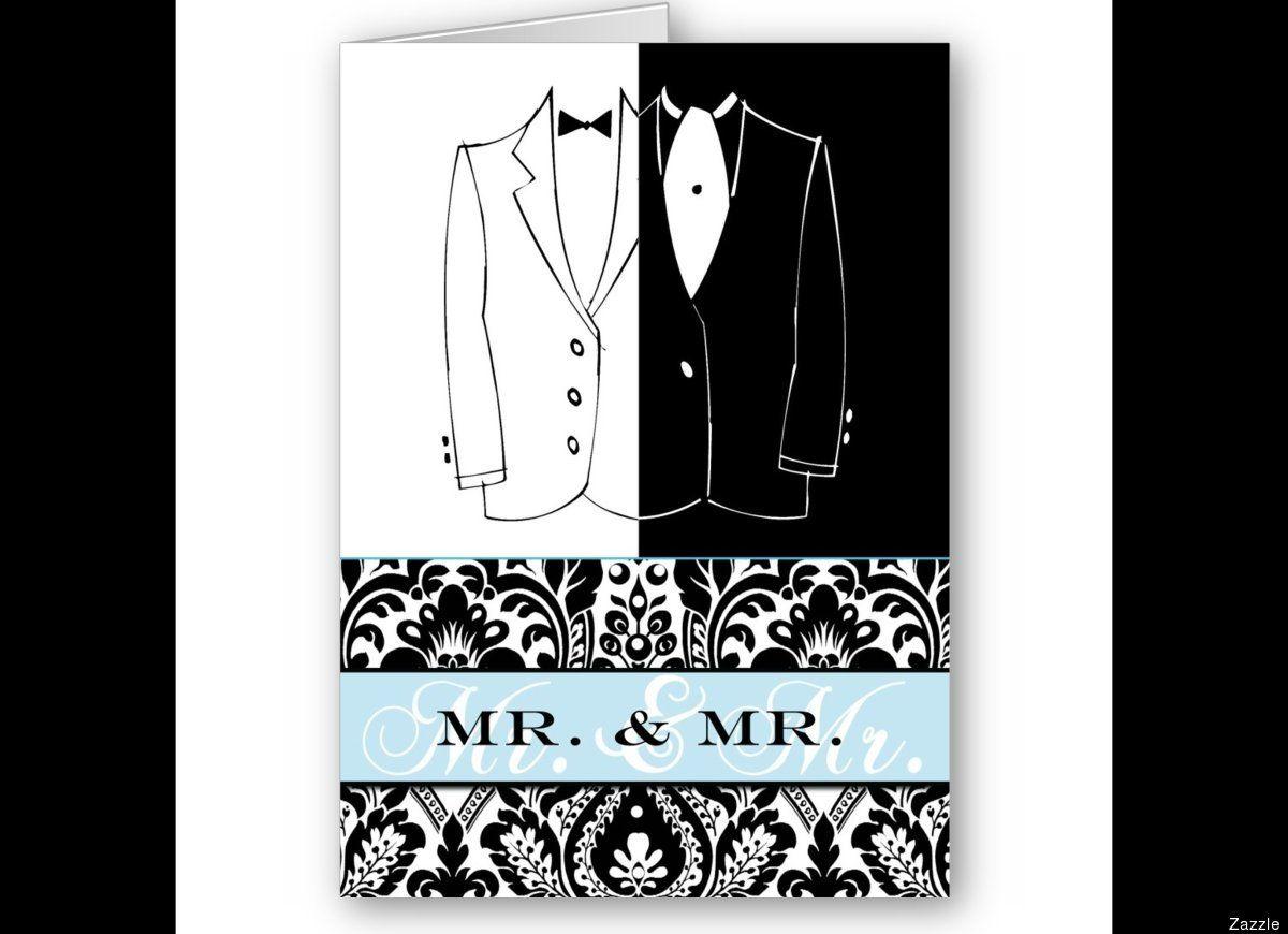 bling wedding invitations bling wedding invitations Gay Wedding Invites The Cutest Same Sex Invites