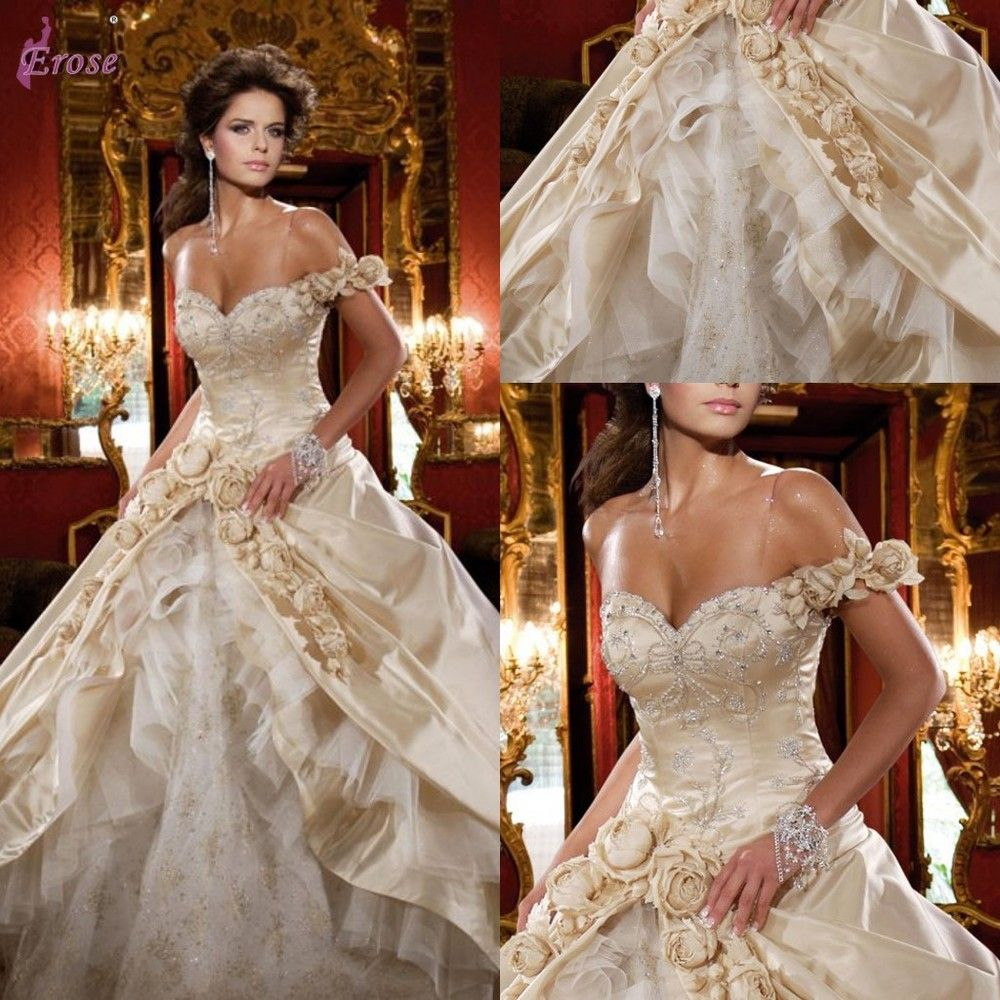 luxury wedding dresses Daniel Degli Onofri Luxury Swarovski Crystal One Shoulder Wedding Dress Wedding Gown G US 00
