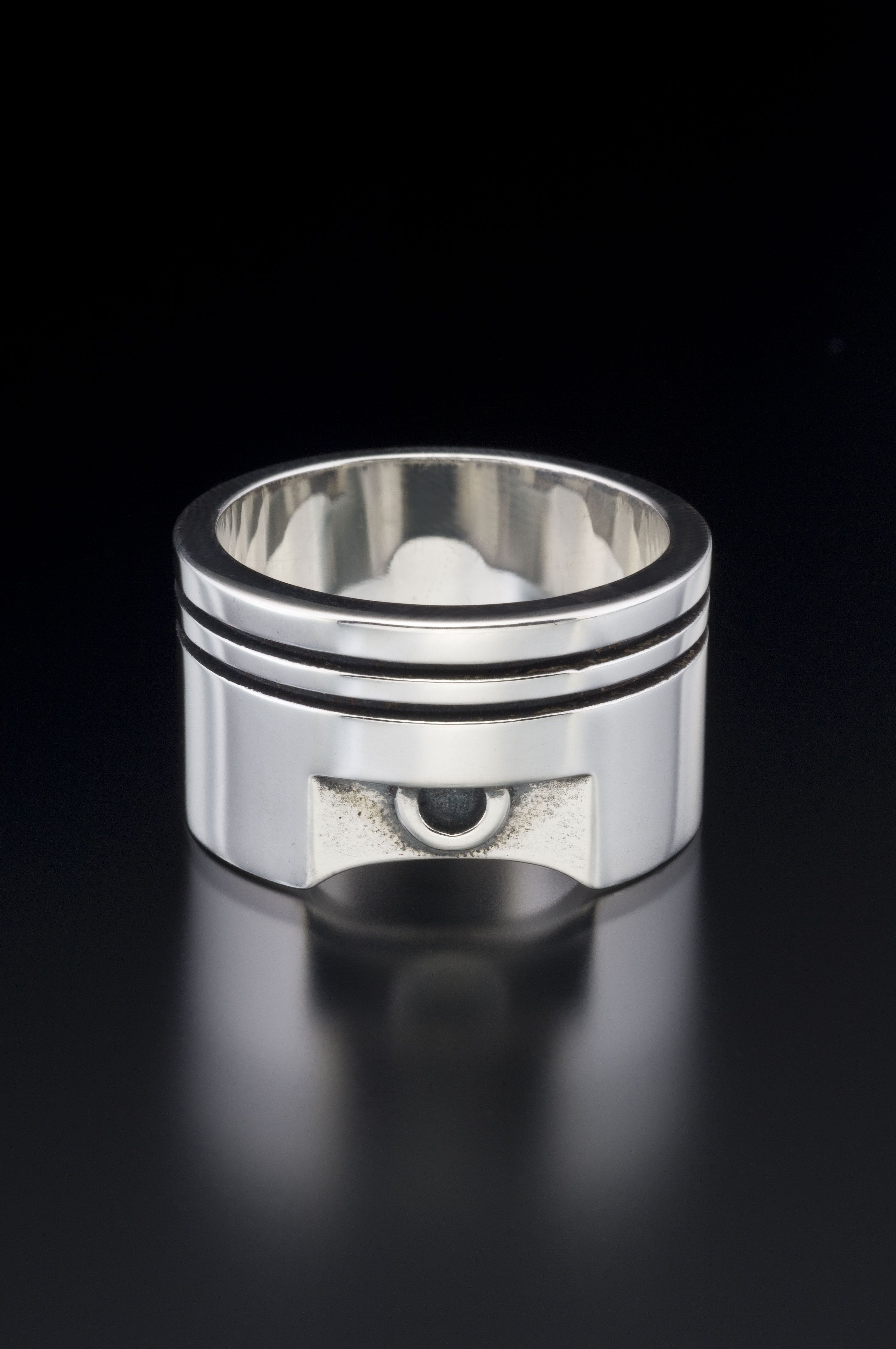 mechanic wedding ring WRENCH WEDDING BAND with Genuine Sapphire A real wedding ring Wedding Wedding ring and This is awesome