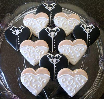 Best 25+ Decorated wedding cookies ideas on Pinterest ...