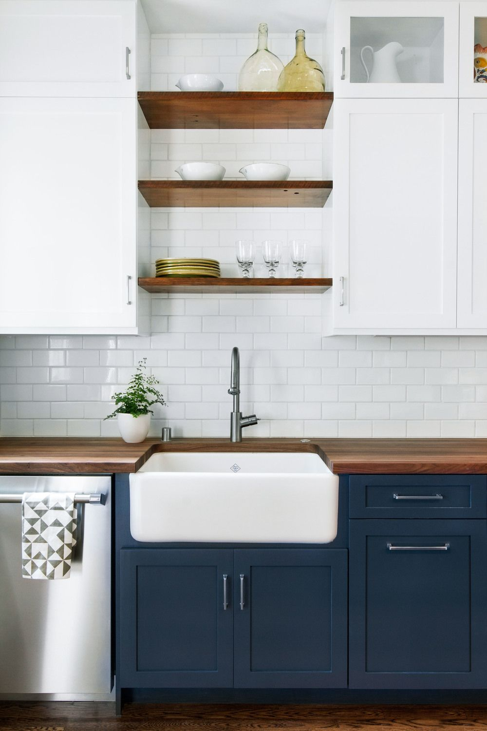 blue cabinets kitchen Have you considered using blue for your kitchen cabinetry Making your HOME beautiful