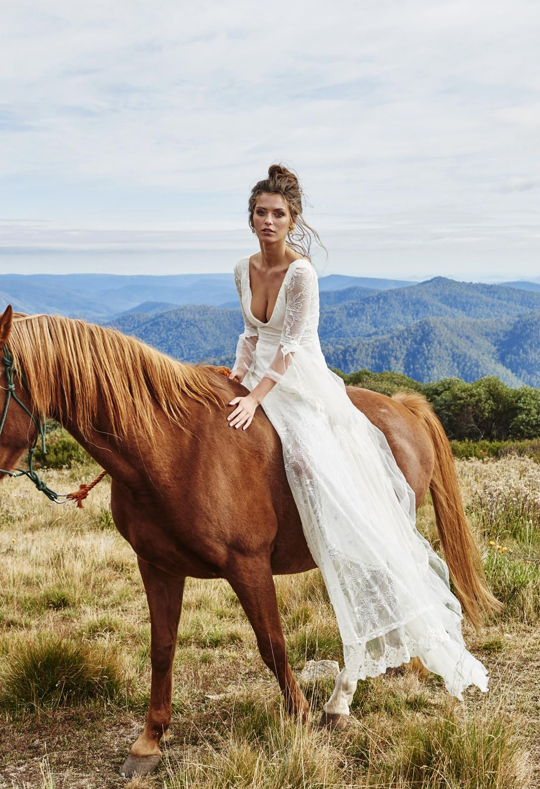 handmade wedding dresses Grace Loves Lace Untamed Collection Francis Handmade wedding dresses made out of