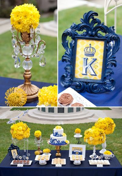 Royal Wedding Themes on Pinterest | Yellow Bridal Showers ...