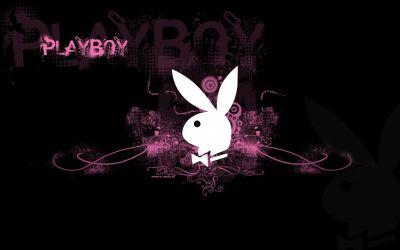 wallpaper for computer | Playboy Logo Pink Wallpaper | Customity | Places to Visit | Pinterest ...