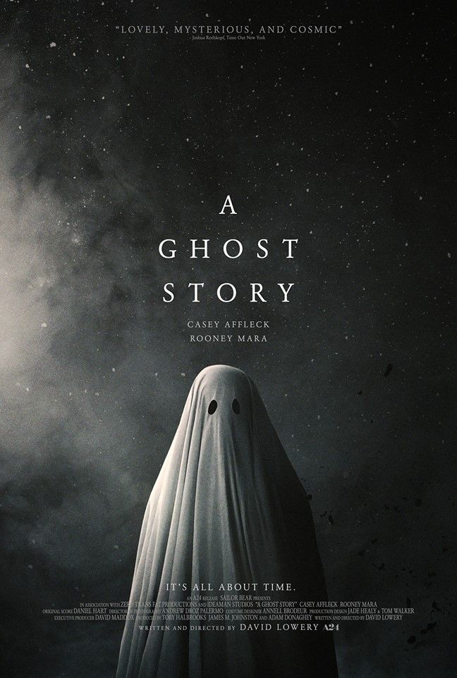 Resultado de imagen para Una Historia De Fantasmas (2017) pelicula