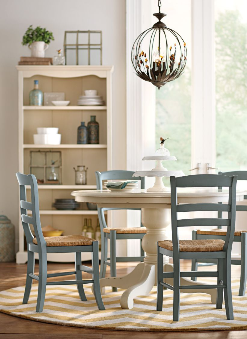 round kitchen table set Round dining table perfect for breakfast lunch and dinner HomeDecorators