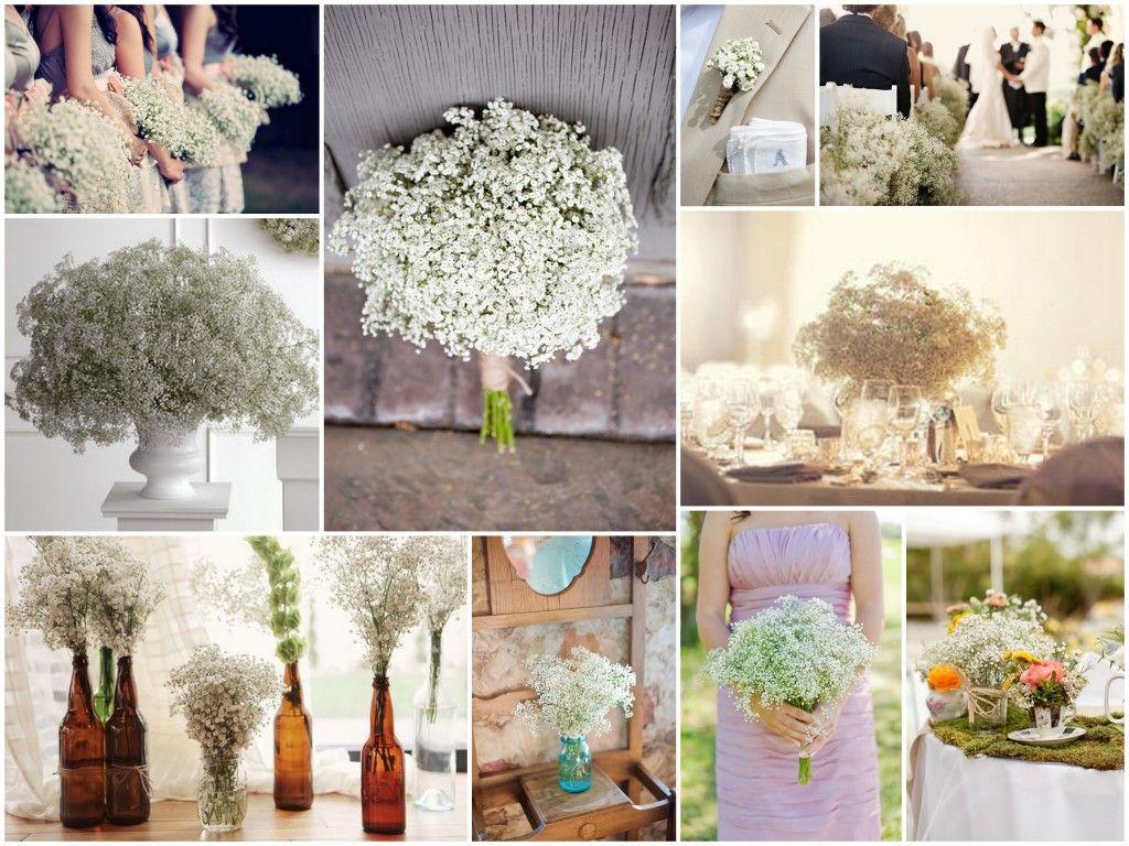 wedding supplies Cheap Wedding Decorations wedding white wedding baby s breath flower