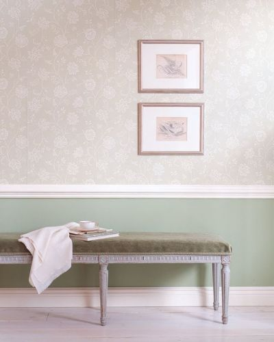 Wallpaper under Dado Rail | Staircases | Pinterest | Hallways, The | Images Wallpapers ...