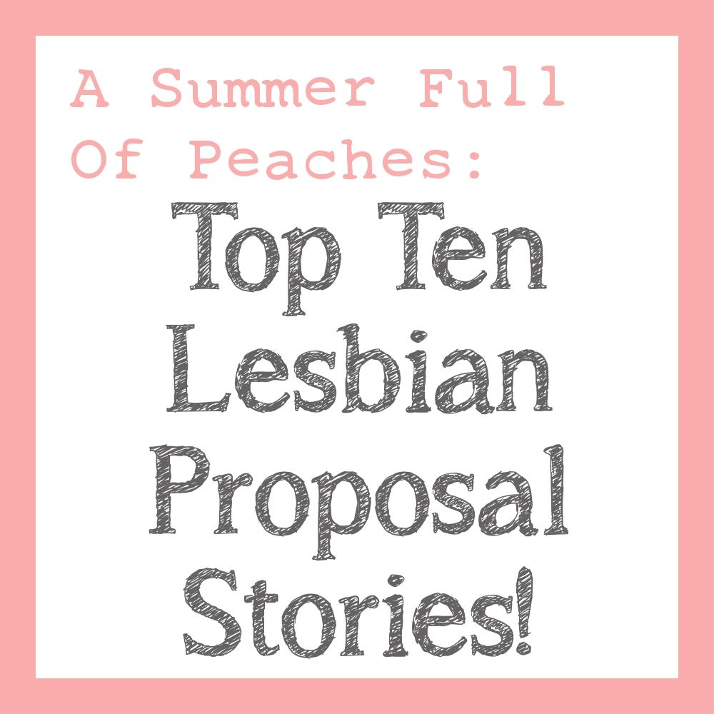 lesbian wedding bands Most Romantic Lesbian Wedding Proposals