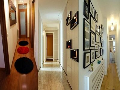 Narrow Hallway ideas... | For the Home | Pinterest | Corridor