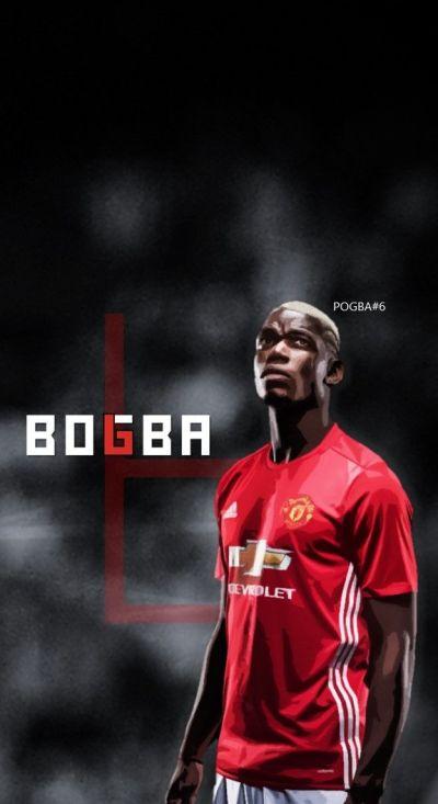 Paul Pogba - Manchester United - Football - Soccer Creative Art - wallpaper | Football ...