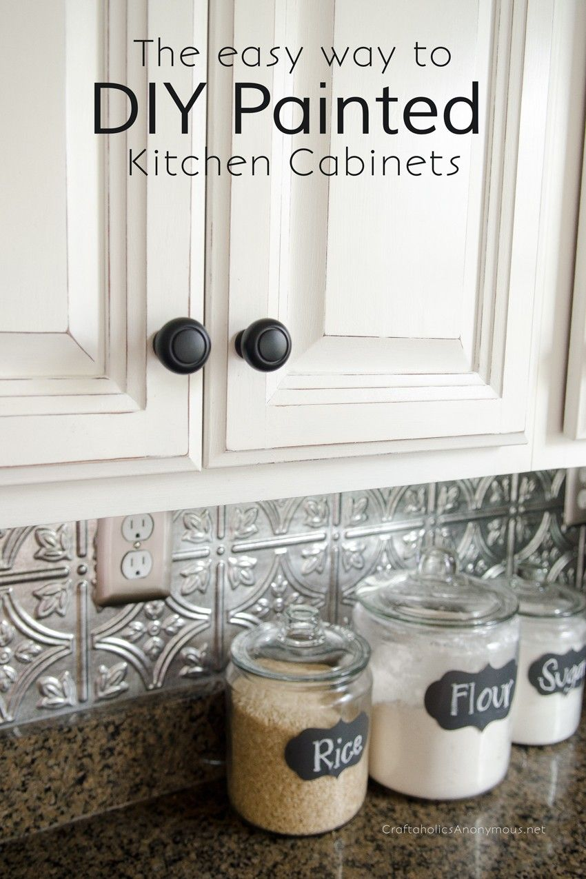 spray painting kitchen cabinets How to Paint Kitchen Cabinets with Chalk Paint
