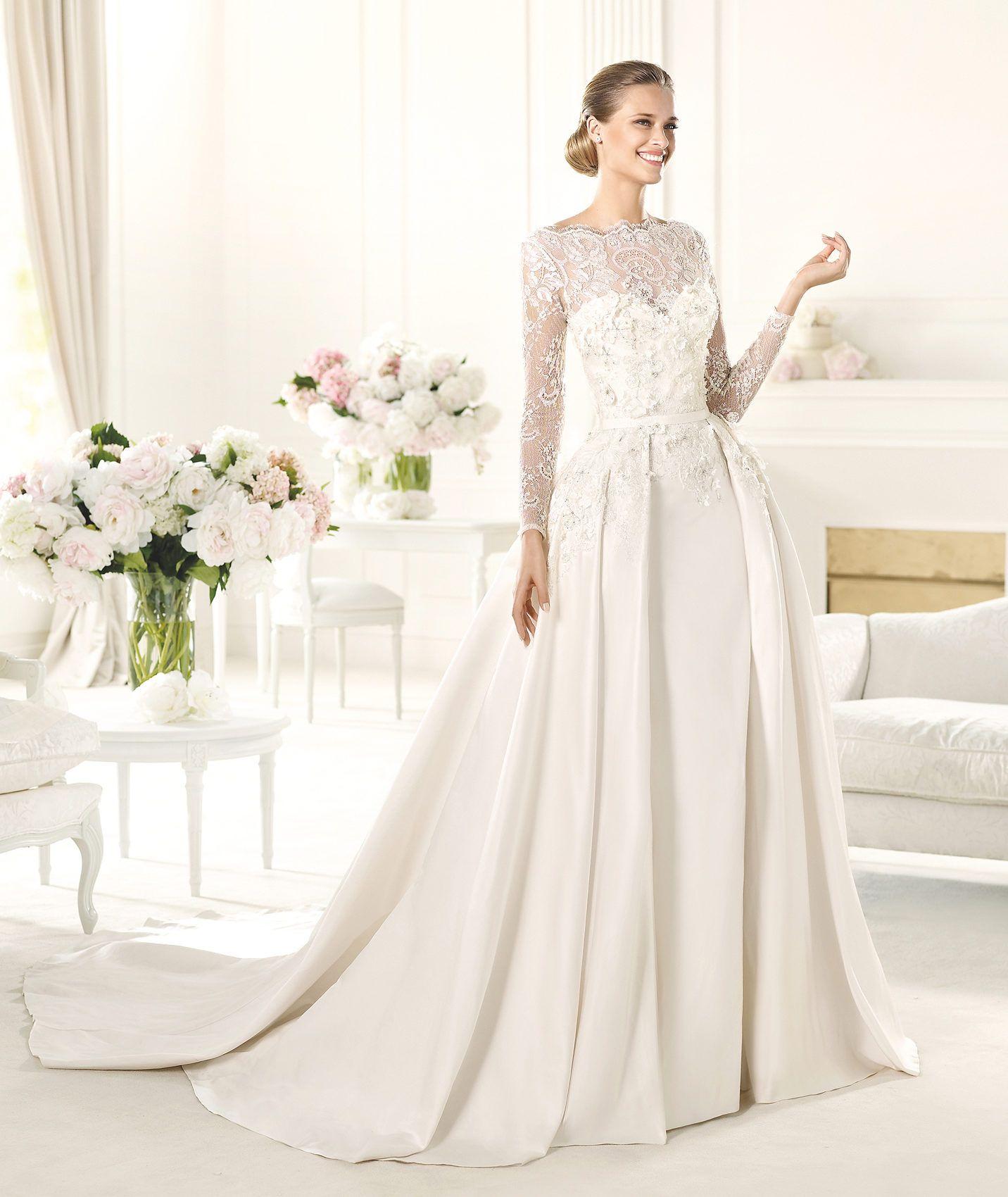 elie saab wedding dress Satin wedding dresses