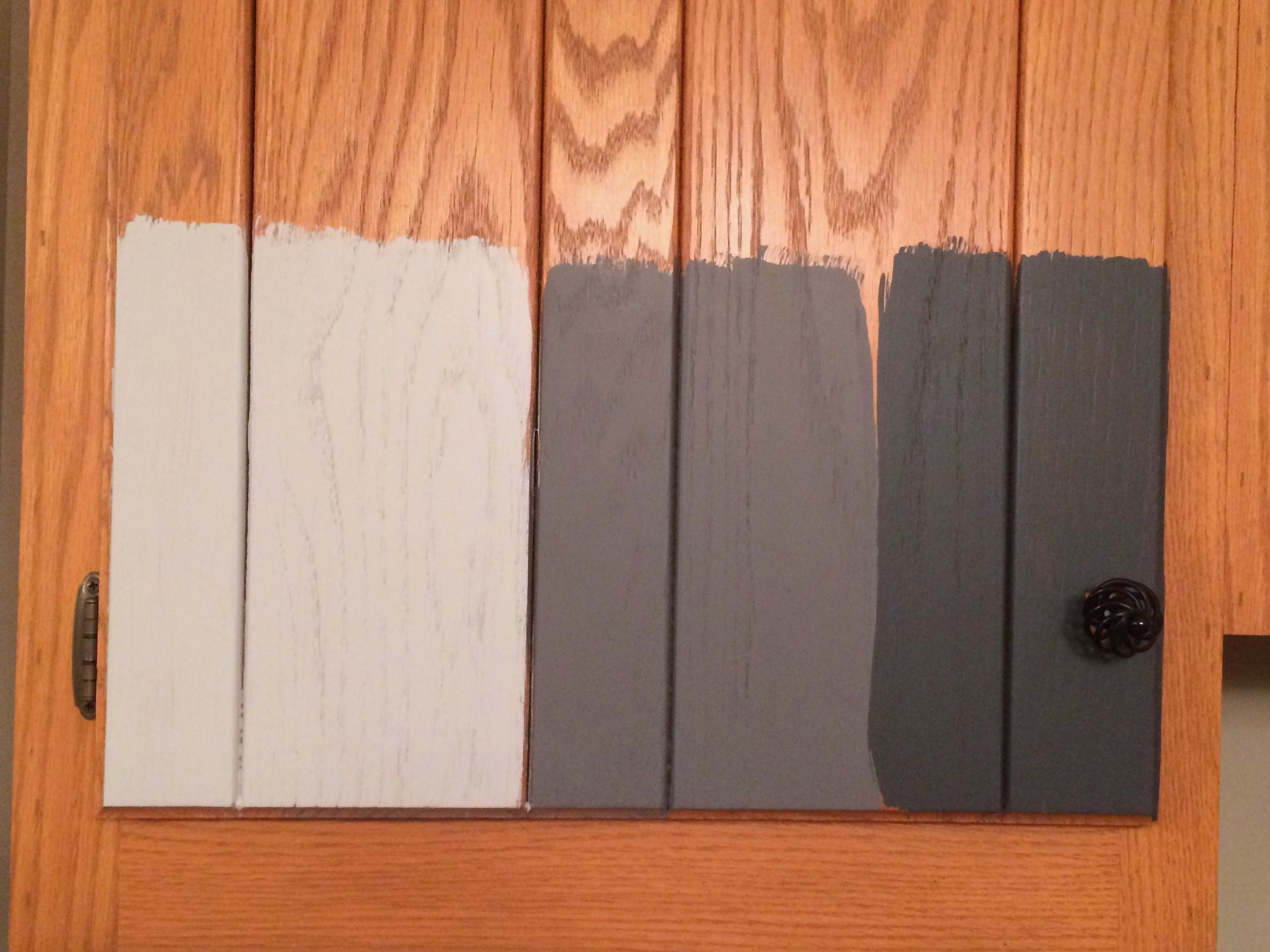 repainting kitchen cabinets How to Paint Kitchen Cabinets without sanding or priming