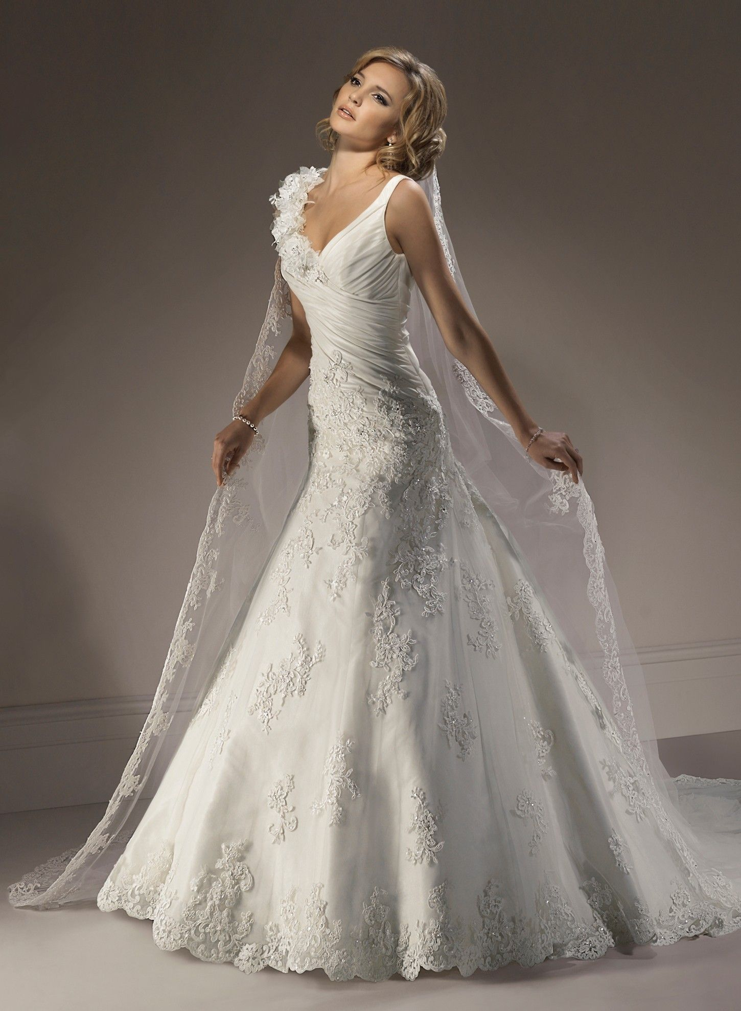 a line wedding dresses Get Intrigued With A Line Wedding Dresses
