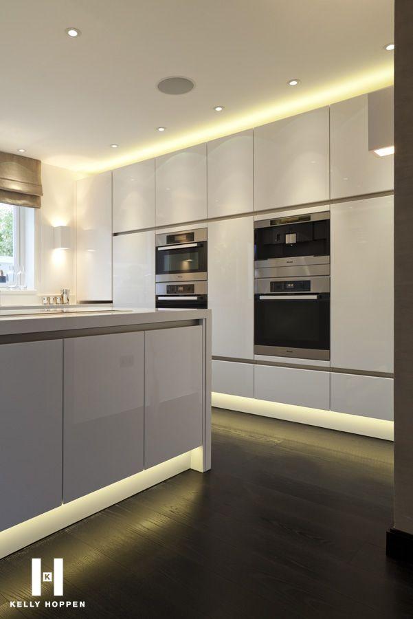 ambientes decorados com leds kitchen led lighting