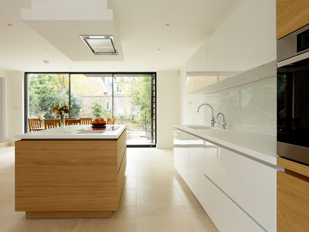 alno kitchens german kitchen cabinets all white like recess space under counter Alno German Kitchen System