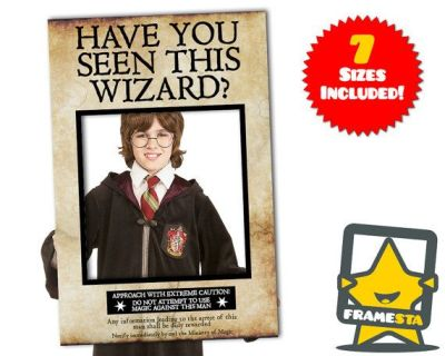 Have You Seen This Wizard Photo Booth Prop (Instant Download) Harry Potter Decorations, Azkaban ...