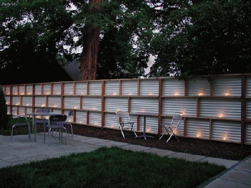 Delighful Sheet Metal Fence Posts O For Inspiration Decorating