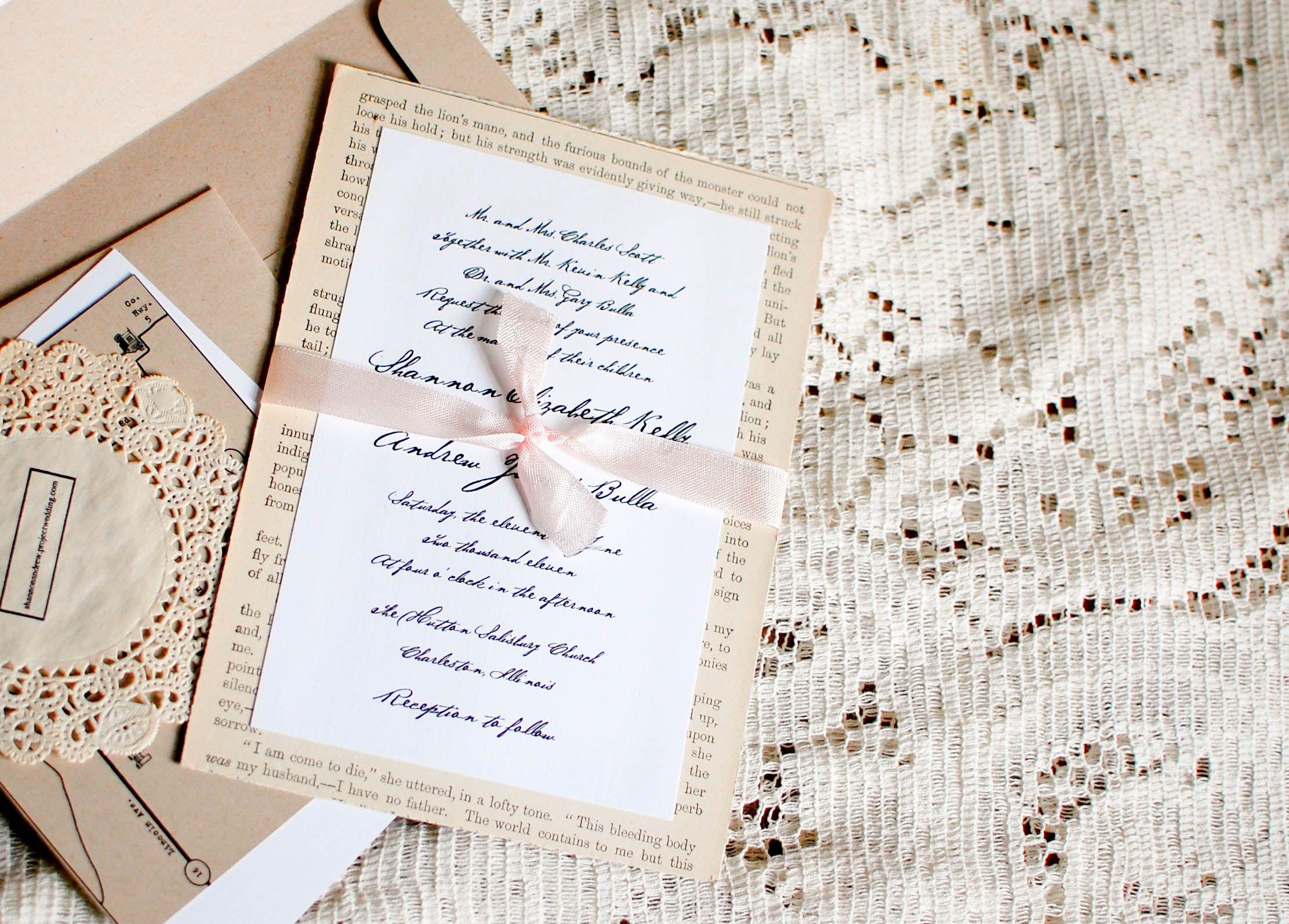 diy wedding invites diy wedding invitation 17 best images about happily ever after invitations on pinterest on vintage wedding invites diy