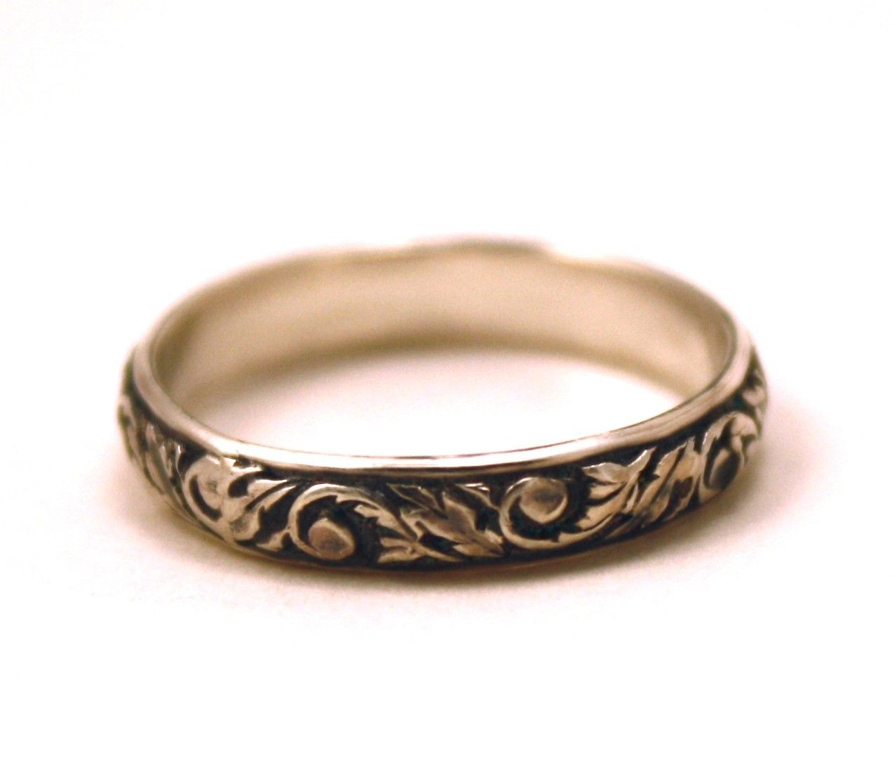 wedding rings and bands Rings Victorian Wedding Band