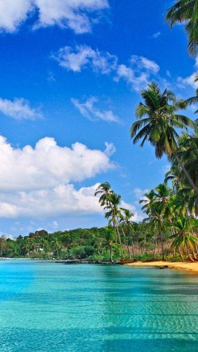 Tropical iPhone 6 Wallpaper 25212 - Beach iPhone 6 Wallpapers | paradise | Pinterest | Wallpaper ...