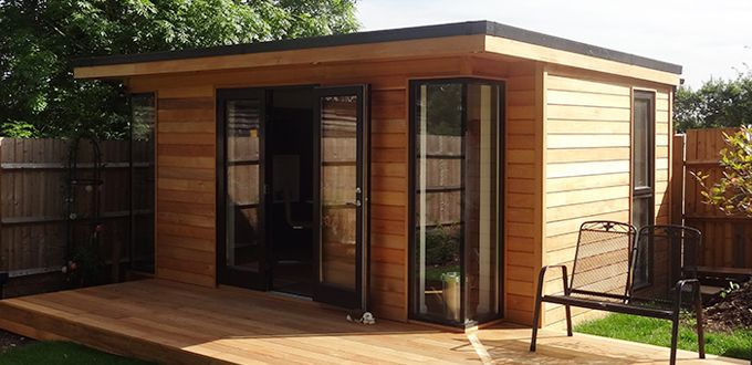 garden office buildings home u0026 insulated offices vivid green in the