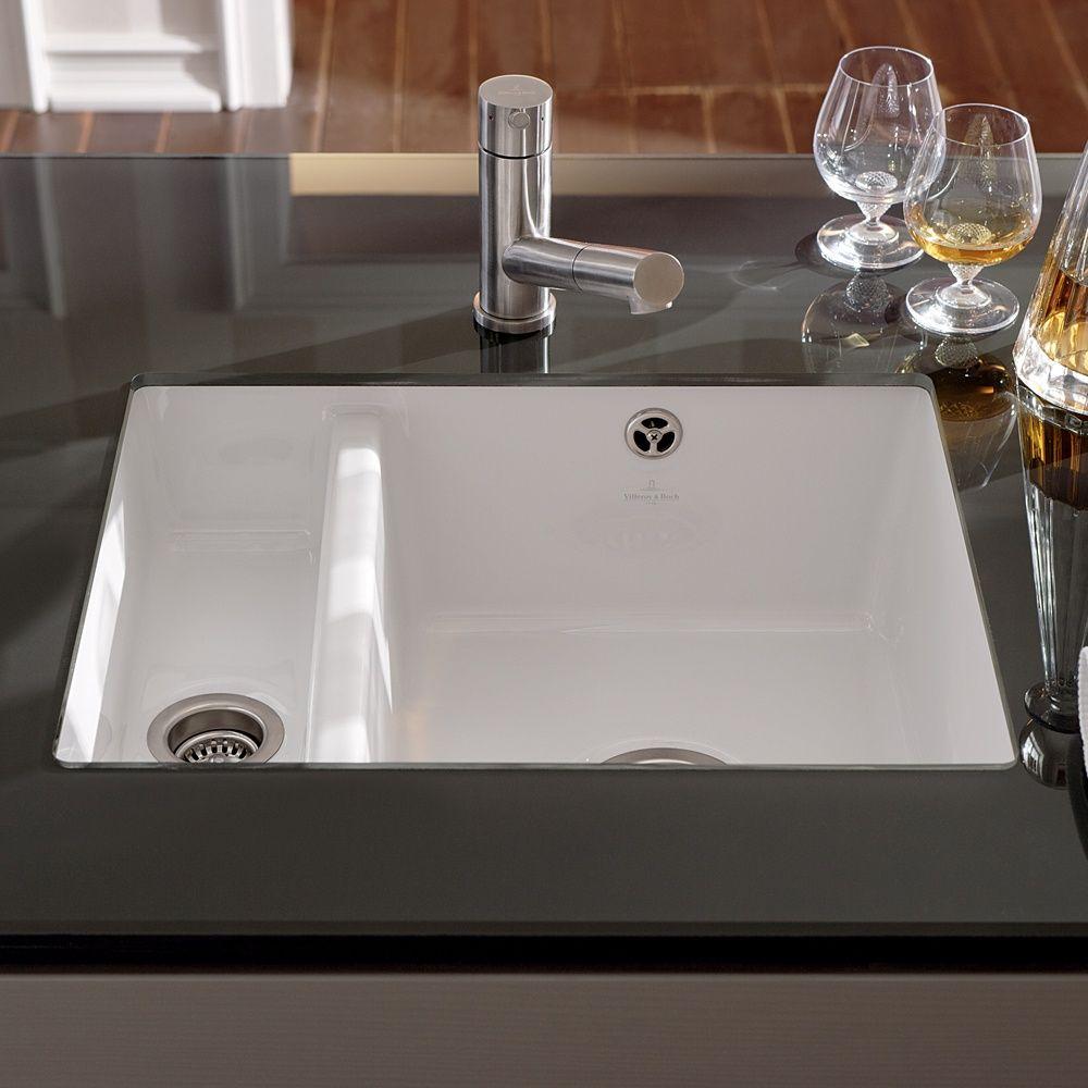 white kitchen sink undermount white undermount kitchen double sinks Google Search