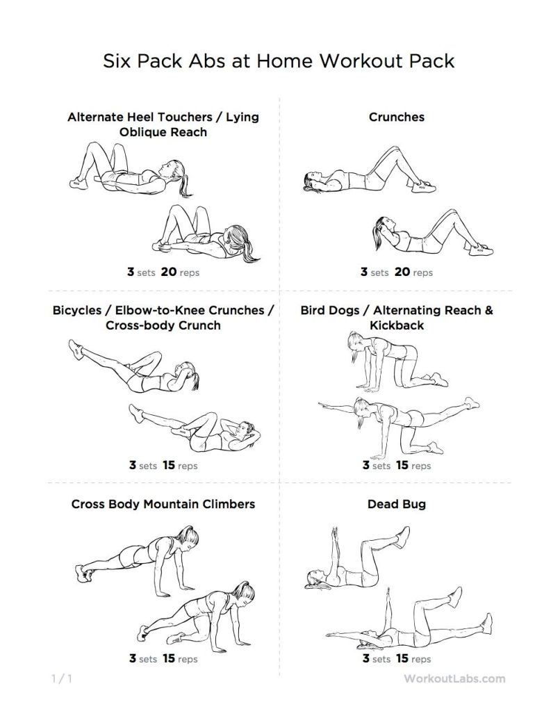 Six Pack Abs Workout Plan Pdf Yourviewsite Co