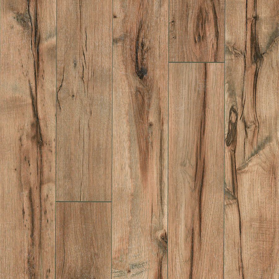 lowes kitchen flooring Providence Hickory handscraped laminate floor Light hickory wood finish plank laminate flooring easy to install and covered by PERGO s lifetime warranty