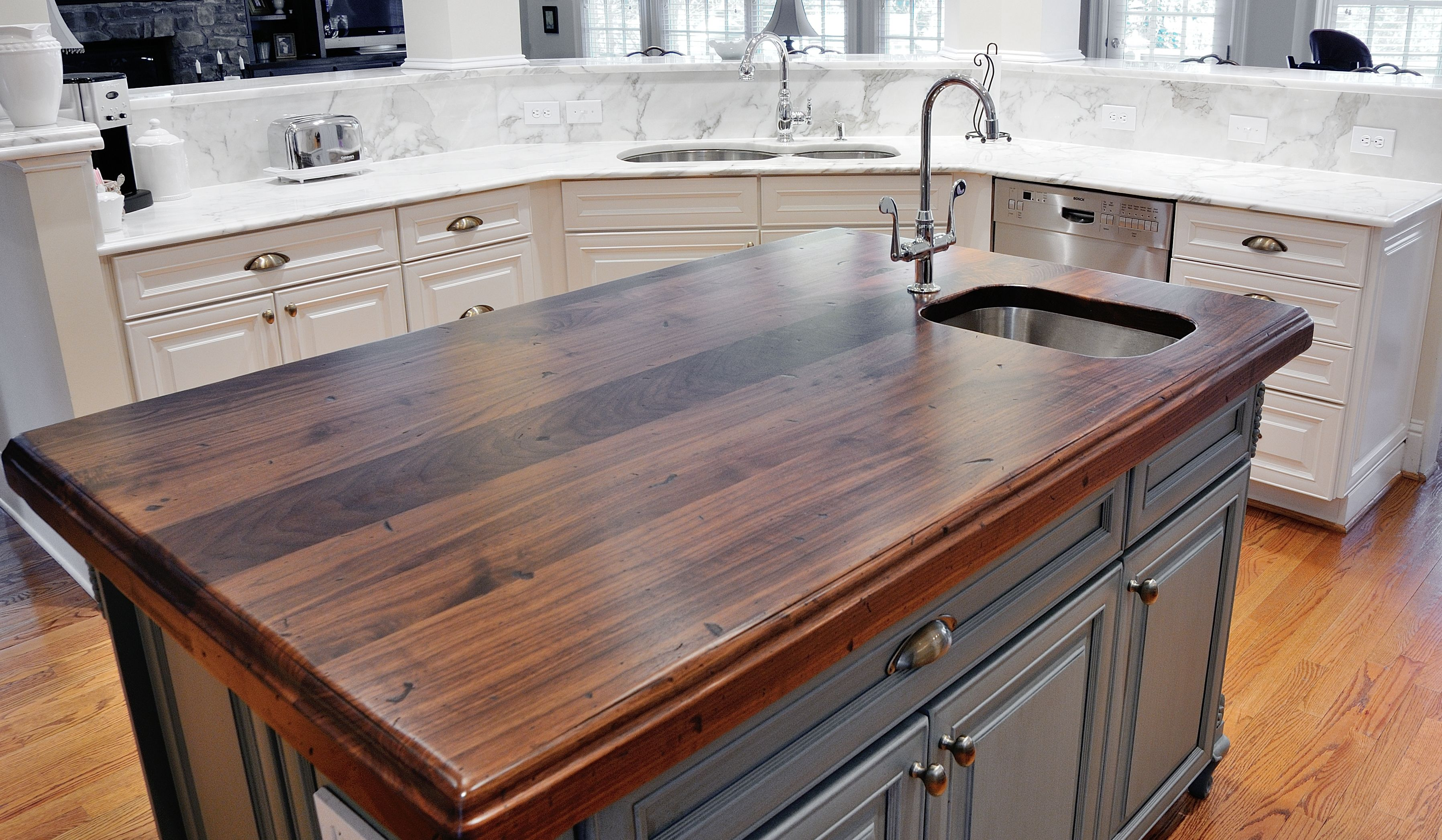 distressed wood countertops wood countertops kitchen 17 Best Images About Black Walnut By Craft Art On Pinterest Wood