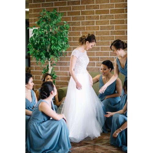 Medium Crop Of Slate Blue Bridesmaid Dresses