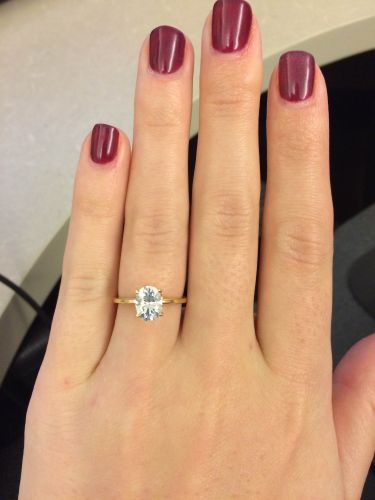 affordable wedding rings Rings Oval Solitaire Moissanite stone Way more affordable option just as beautiful