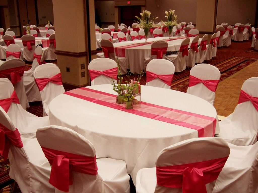 wedding decoration Wedding Decorations Red And White Ideas
