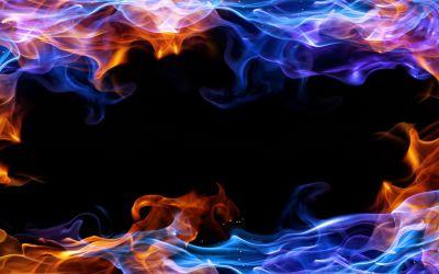 Fire frame background #3131   vector flames   Pinterest   Wallpaper